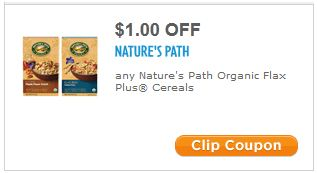 Coupons nature's path