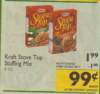 Stove top stuffing coupons printable