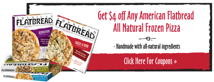 2 Comments To American Flatbread All Natural Frozen Pizza Only 299 At Market Basket Thru 3 9 With 4 1 Printable Coupon