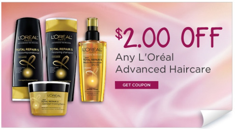 FREE L'Oreal Advanced Shampoo or Conditioner at Rite-Aid ...