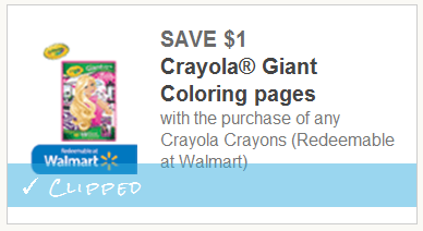 Crayola Giant Coloring Book & Crayons Only $4.75 – Great for ...