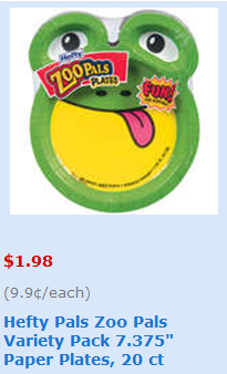 These plate ...  sc 1 st  Coupon Karma & Hefty Zoo Pals Plates Only $1.43 at Walmart with Printable Coupon ...