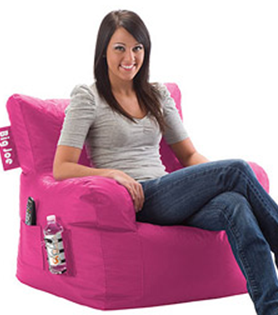 I just love this style of bean bag chair!  sc 1 st  Darlene Michaud : big joe bean bag chair pink - Cheerinfomania.Com