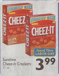 photo relating to Cheez It Coupon Printable identified as Family members Dimensions Cheez-It Crackers Simply $2.59 at Shaws through 9/5