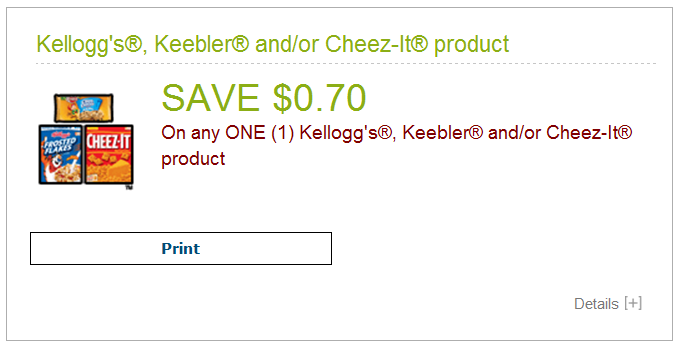 photo relating to Cheez It Coupon Printable known as PRINT At present ** Totally free Kelloggs, Keebler, Cheez-It at Shaws