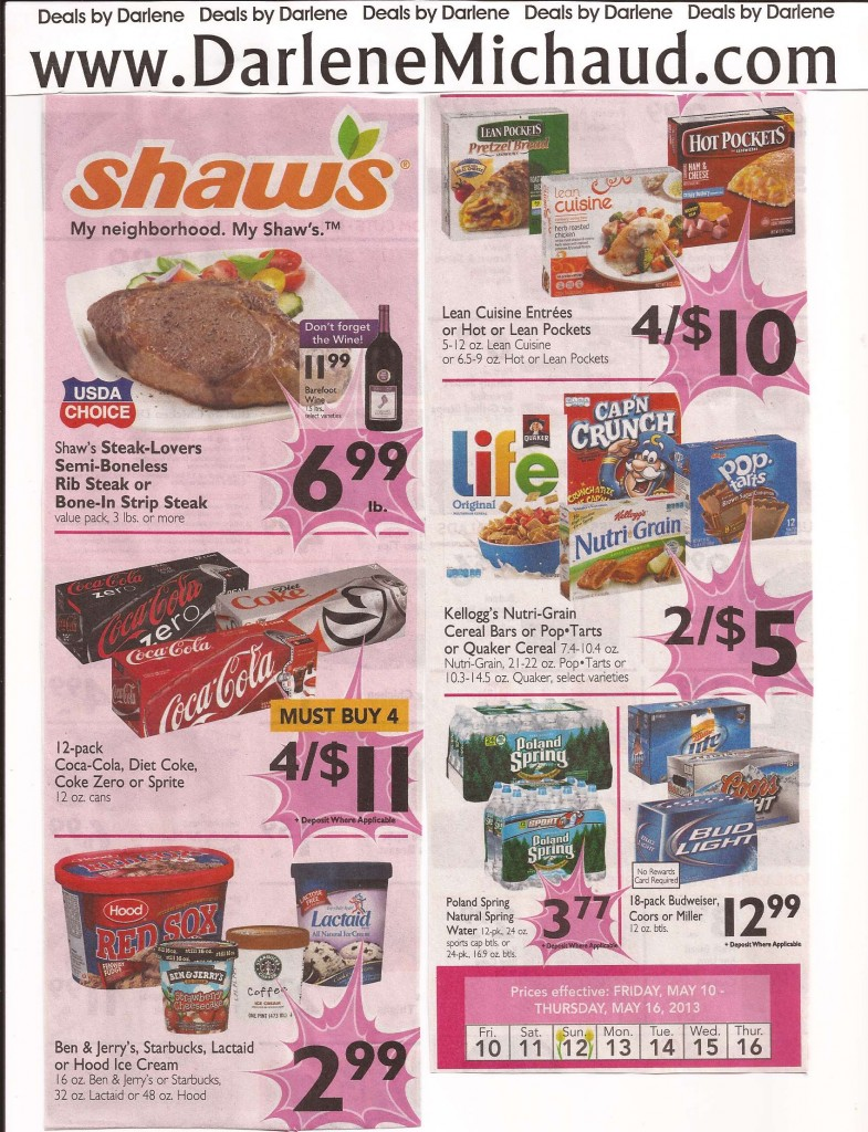Shaw S Flyer Preview For Week Of 5 10 5 16 Plus 10 Gift