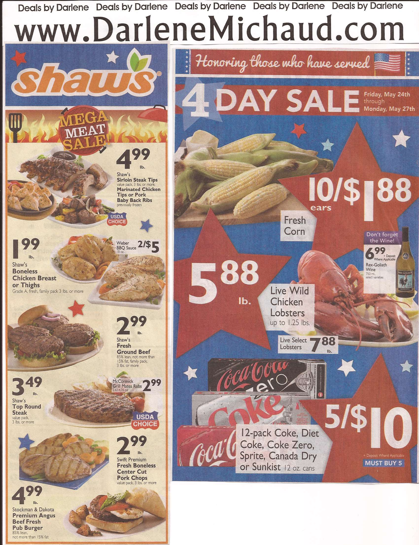 Shaw S Flyer Preview For Week Of 5 24 5 30 Darlene Michaud