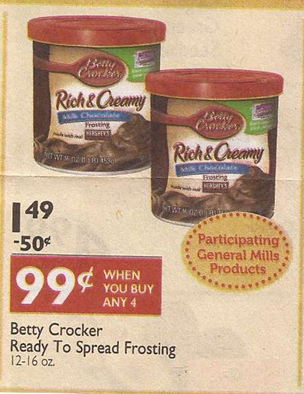 money maker on betty crocker frosting at shaw s starting 6 7 with