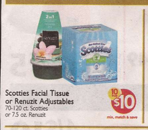 graphic regarding Scotties Tissues Printable Coupon named Scotties Tissues Simply just 50 CENTS at Shaws and Greenback Tree