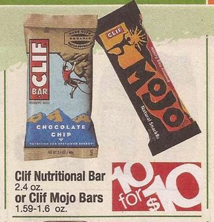 photograph relating to Cliff Bar Printable Coupons known as Up grade DND \u003d NOT Absolutely free] Clif Mojo Bars $.50 at Shaws
