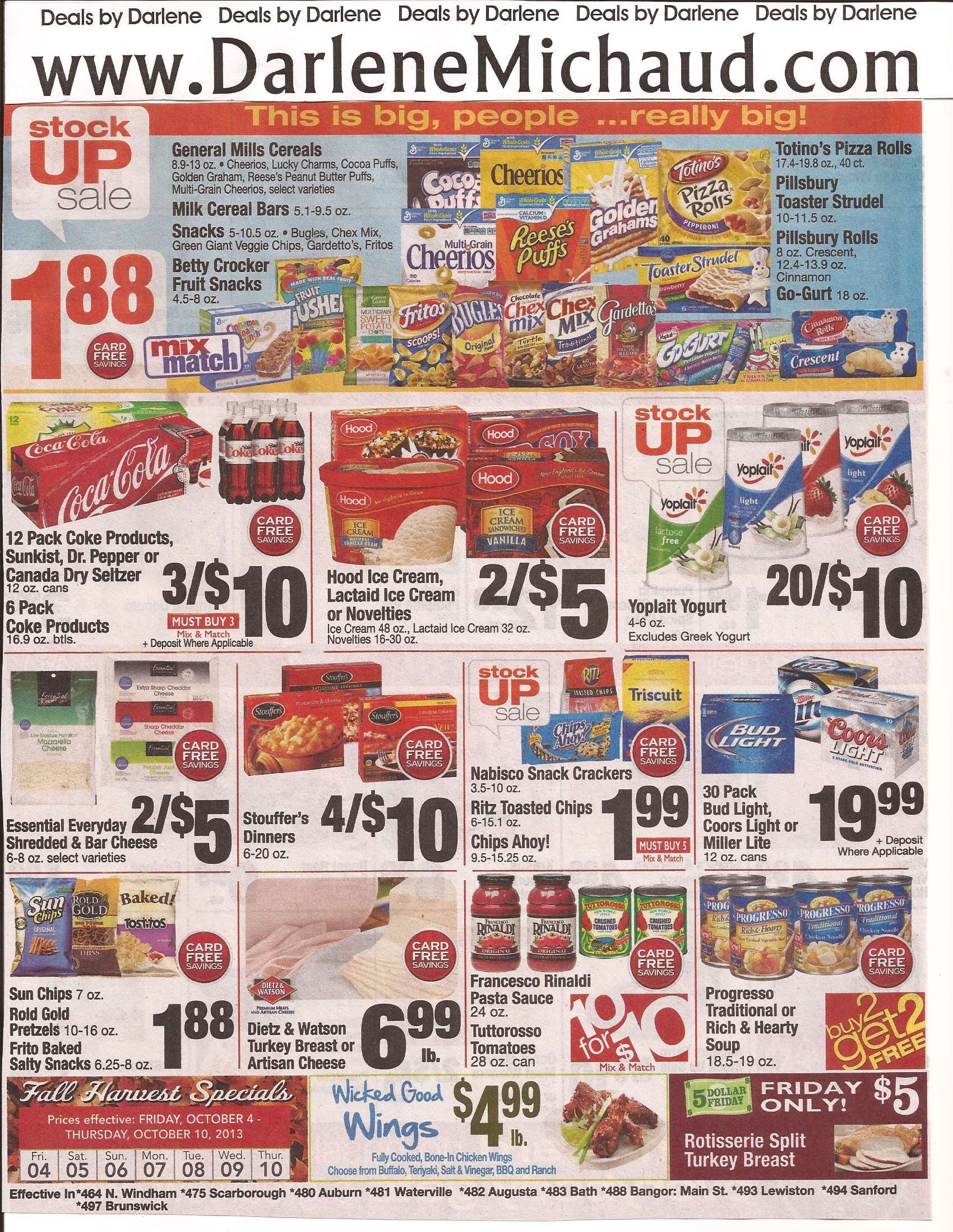 Coupon Roundup For Shaw S General Mills Sale Starting 10 4