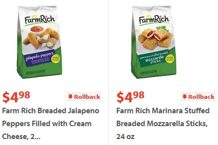 Farm rich snacks coupons
