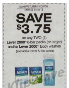 Lever 2000 Bar Soap Only 39 Cents Per Bar At Walmart With