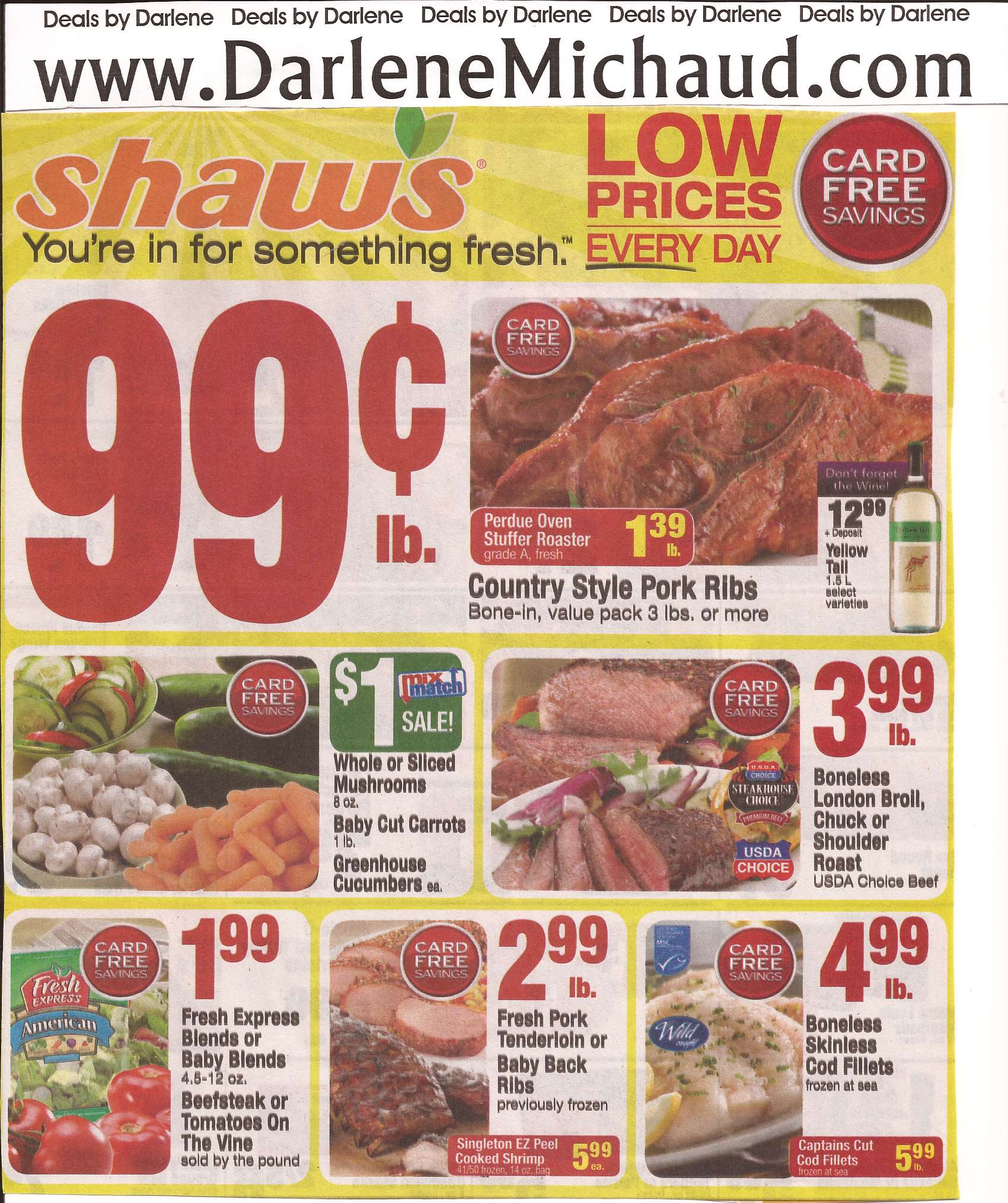 shaws coupon policy maine