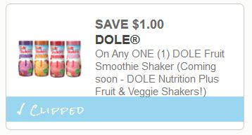 dole fruit smoothie coupons