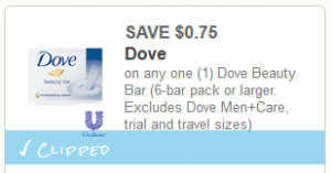 photo relating to Dove Soap Printable Coupons referred to as Dove Cleaning soap 6 Pack $4.24 at Market place Basket with Printable