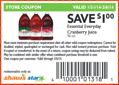 Printable coupons for everyday items