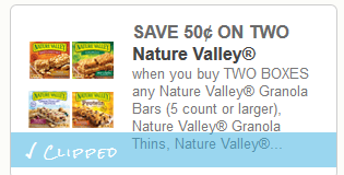 photograph relating to Nature Valley Printable Coupons identify Character Valley Granola Bars $2.15 at Marketplace Basket with