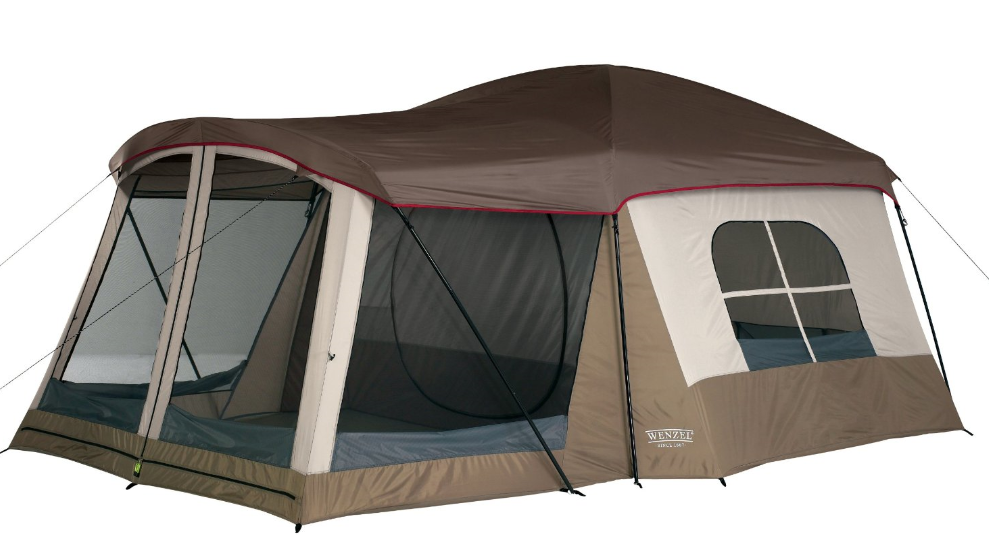 Wenzel Klondike 16 X 11-Feet Eight-Person Family Cabin Dome Tent $179.09 (Reg. $249.99) + FREE Shipping  sc 1 st  Darlene Michaud & Amazon: Coleman Sundome 4-Person Tent Only $49.99 (Reg $84.99 ...