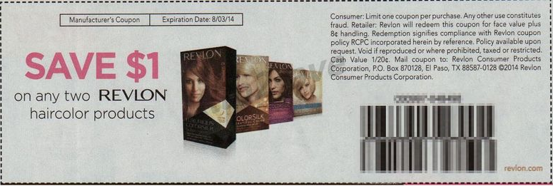 Revlon Colorsilk Hair Color Only $2.50 At Walgreens With Insert ...