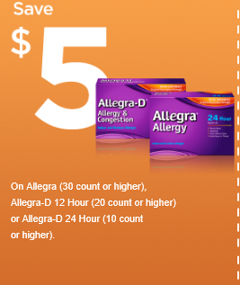Allegra D 12 hour coupons - Save 97% with free coupons