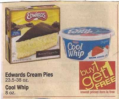 picture about Edwards Pies Printable Coupons named $1/1 Edwards Product Pies Printable Coupon for Shaws BOGO