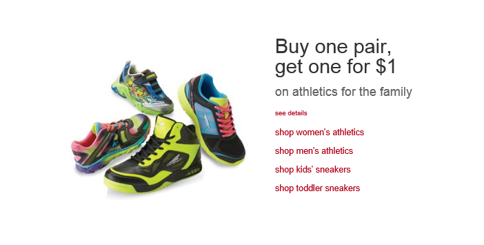 139b8175e54b Hurry on over to Kmart.com where you can score a great deal on athletics  sneakers for the Family Toddler