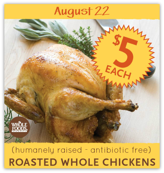 Whole Foods Roasted Chicken Price