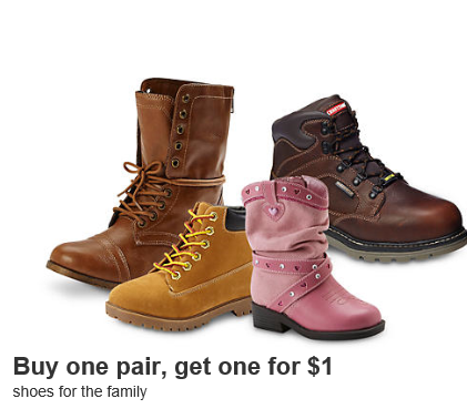 c4fdb0b68b0 Kmart: Buy 1 Pair Of Boots & Get 1 For $1.00 + FREE In-Store Pickup ...