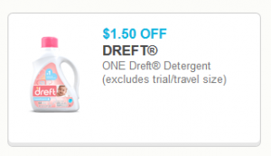 image about Dreft Printable Coupon named Dreft Laundry Detergent, 50 fl oz simply $8.47 at Walmart with