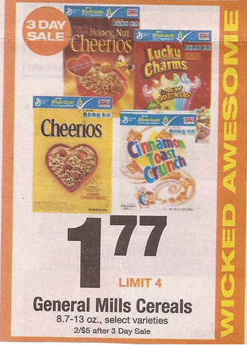 general-mills-cereal-shaws-sale