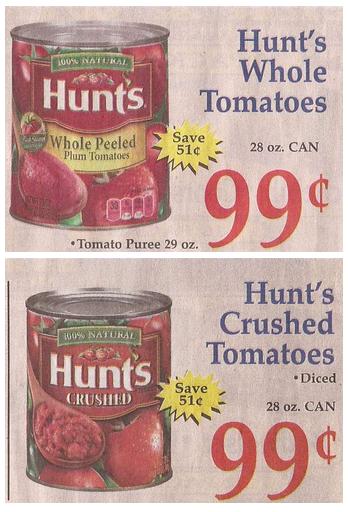 hunts-tomatoes-market-basket-sale