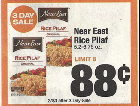 Pm Shaws Near East Rice Pilaf Only 8 162 At Walmart 10 31