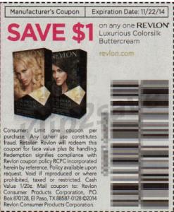 Revlon colorsilk coupon printable 2018