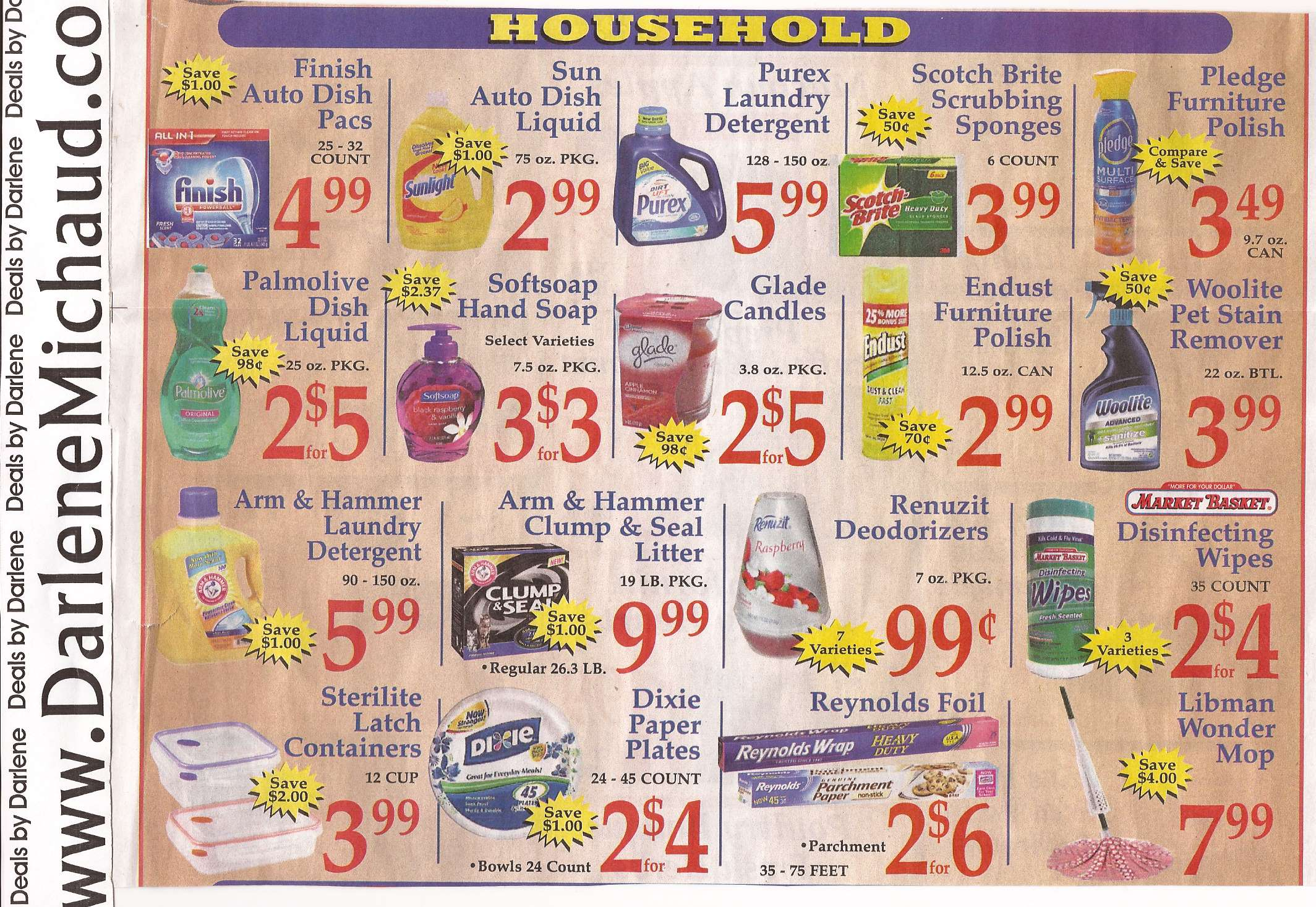 market basket grocery coupons