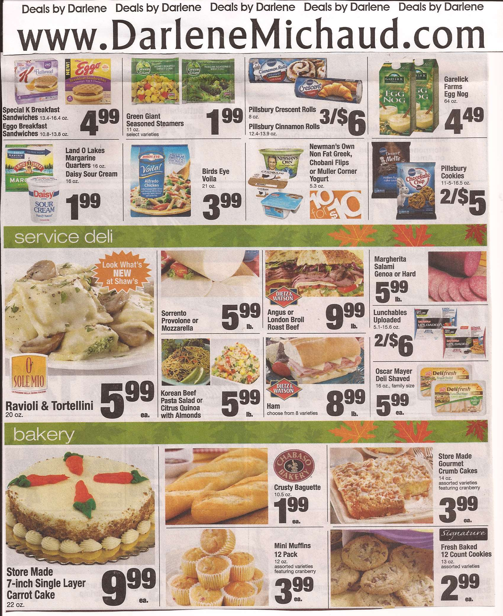 Shaws Deals 2 20 Gift Ftempo