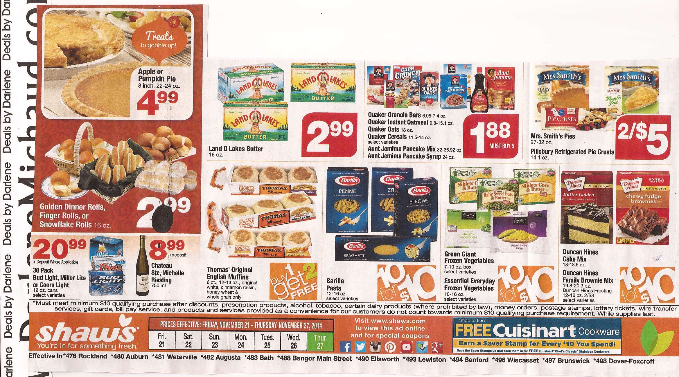 Shaws Deals This Week Gift Ftempo