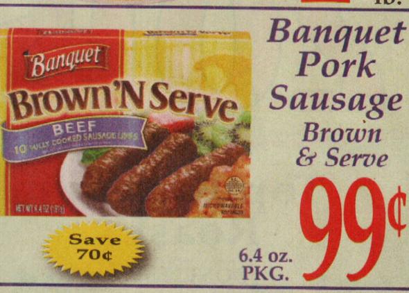 brown n serve coupons