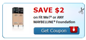 Do you want to save on MAYBELLINE FITME Foundation? Grab this printable coupon today from Red Plum, and you can save $3 off your purchase. Do not miss out! MAYBELLINE FITME Foundation $3 Off $3 maybelline fit me coupon; Leave a Comment. If you would like to make a comment, please fill out the form below. Name (required) Email (required.