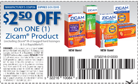 Zicam Nasal Spray Only 7 49 Get 2 000pts At Walgreens