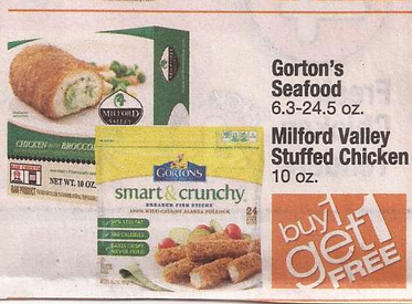 Gorton s smart crunchy fish only at shaw s for Gorton s fish coupons