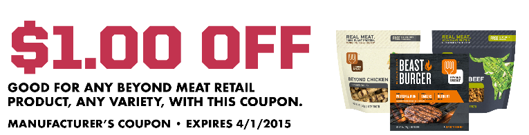 Whole Foods Beyond Meat Coupon