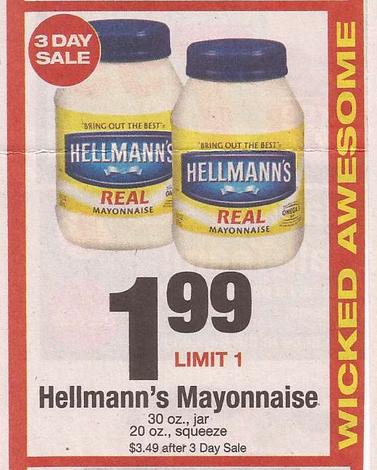 Hellmann mayo coupon 2018