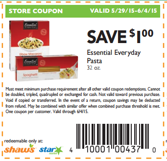 Shaws supermarket coupon policy - Free printable coupons for