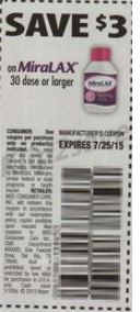 picture regarding Miralax Printable Coupon identify Miralax Simply $20.99 At Walgreens With Incorporate Coupon
