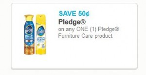 Pledge Lemon Furniture Spray Only At Walmart With Printable Coupon Deals By Darlene