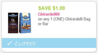image relating to Ghirardelli Printable Coupon named Ghirardelli Chocolate Baggage Basically $2.50 At Walgreens With