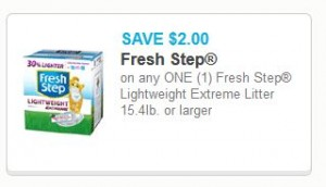image about Fresh Step Coupon Printable known as Superior Significance**New Phase Light-weight Intense Clutter, Merely