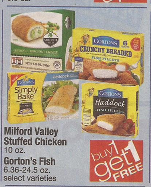 1 1 gorton s seafood coupon for shaw s bogo sale starting for Gorton s fish coupons