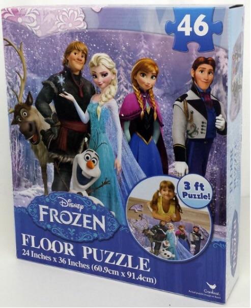 Amazon Disney Frozen Floor Puzzle 46 Piece 24 X 36